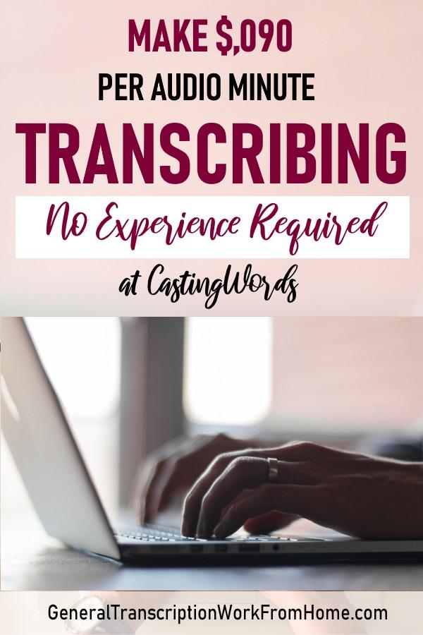 Transcription Jobs for Beginners at CastingWords  No