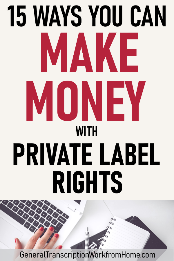 15 Money Making Items with PLR Reseller Rights