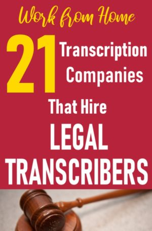 Legal Transcription Archives - Make Money Working from Home