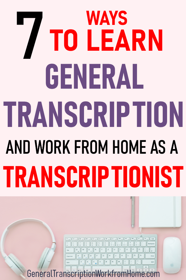 how to become a legal transcriptionist from home